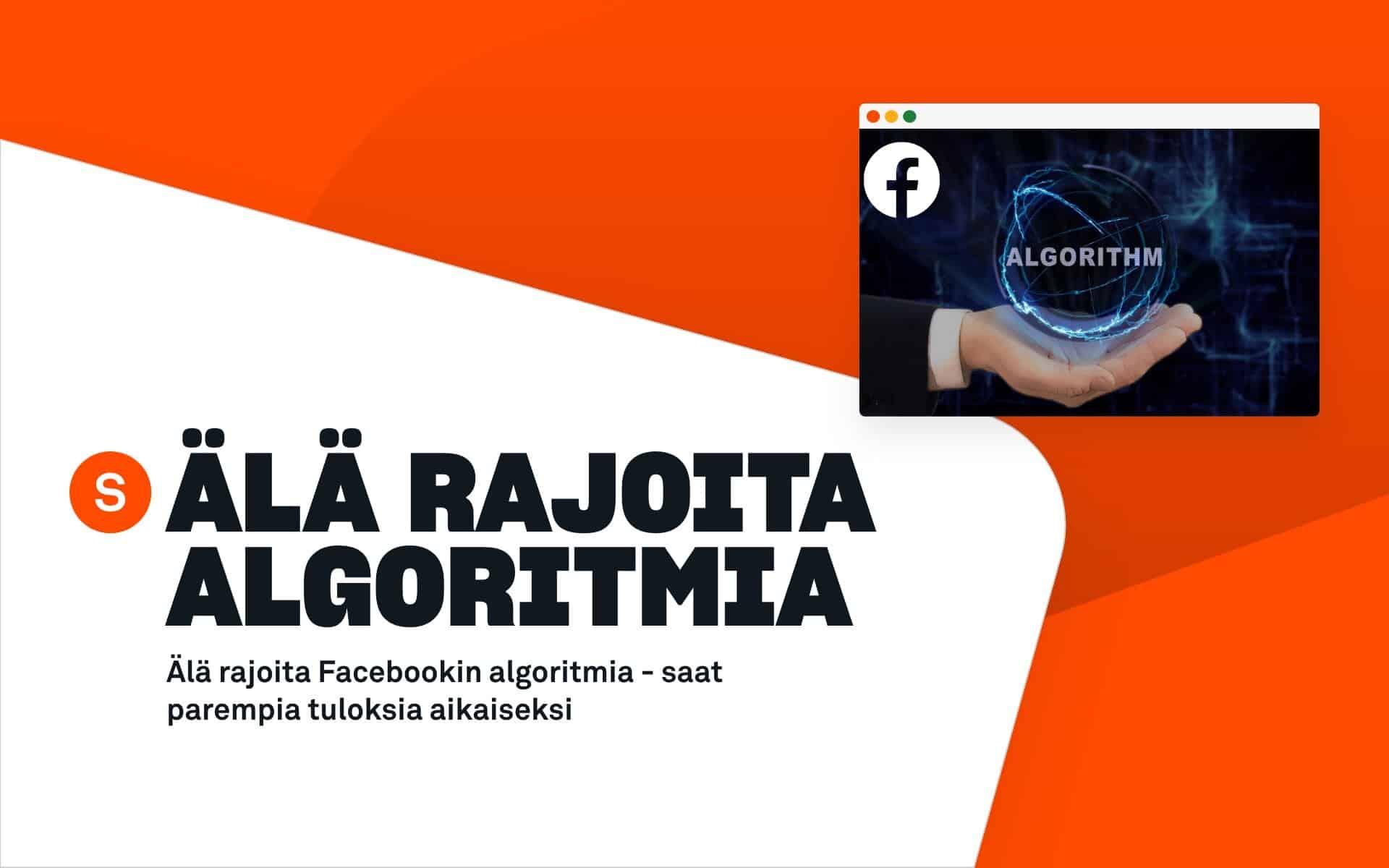 facebookin algoritmi